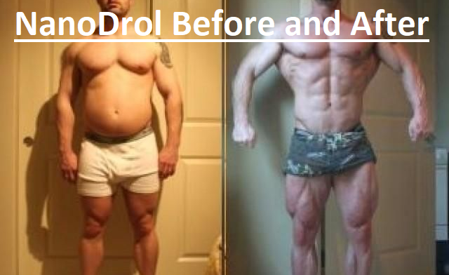 Nanodrol before and After