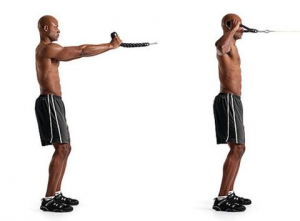 Face Pulls for shoulder mobility